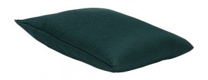 Dark Green Water Resistant Filled Juggling Play Bean Bag