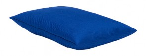Blue Water Resistant Filled Juggling Play Bean Bag