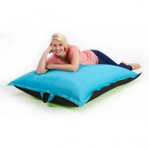 Black and Turquoise Adult Water Resistant Large Multi-Use Bean Bag